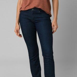 PrAna Indigo Straight Leg Jeans sz 2/26